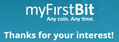 myfirstbit signup